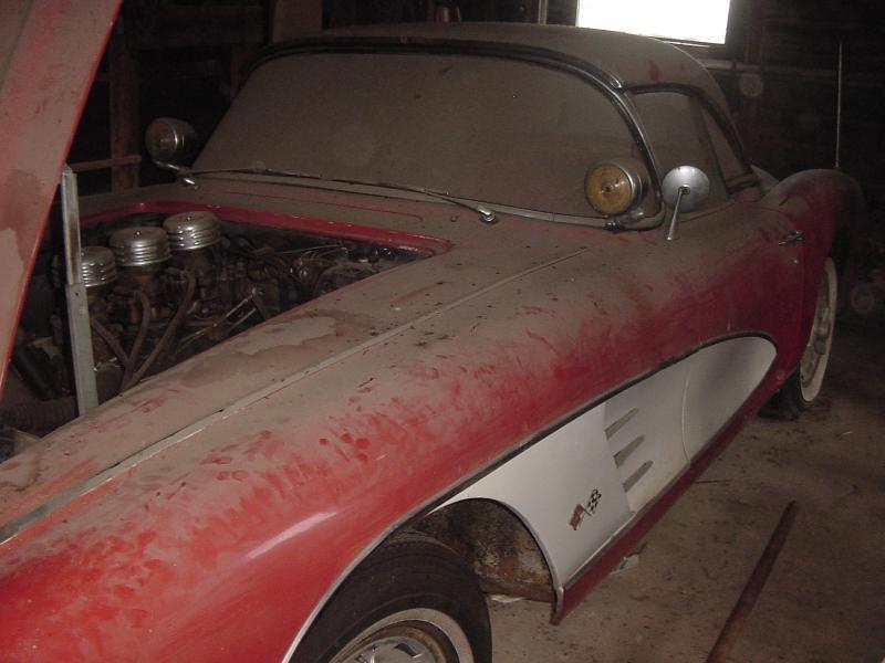 1959 Corvette Barn Car Found in Wisconsin - Corvette: Sales, News ...