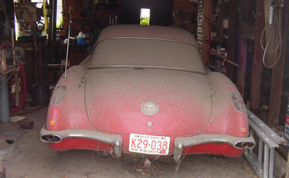 1959 Corvette Barn Car