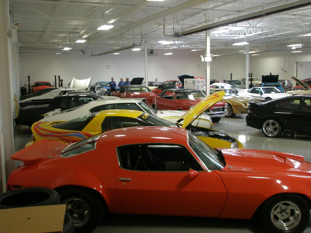 CorvetteBlogger.com Visits the Lingenfelter Collection
