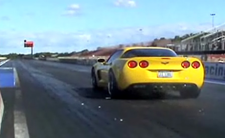 Velocity Yellow C6 Corvette Z06