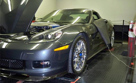 2009 Corvette ZR1 on the Dyno