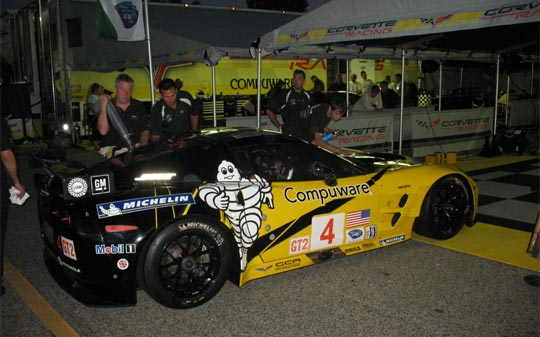 Corvette Racing: Night Practice at Petit Le Mans