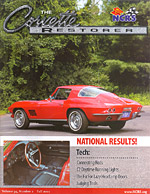 The Corvette Restorer Magazine from the NCRS