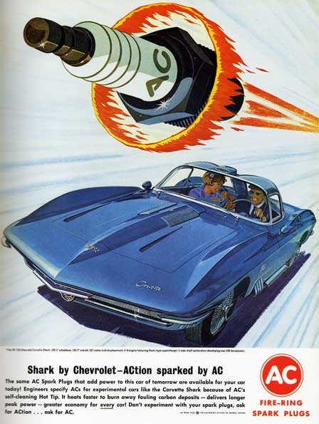 AC Spark Plugs and the Mako Shark