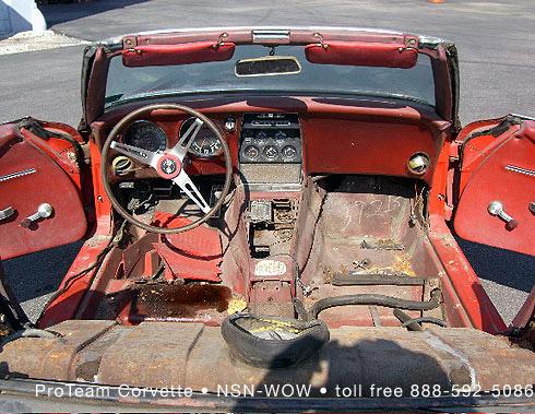 1968 Corvette Radio 1 - Corvette Convertible - 1968 Corvette Radio 1