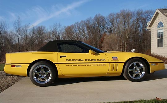 1986 Corvette Pace Car Convertible for Sale at VetteFinders.com