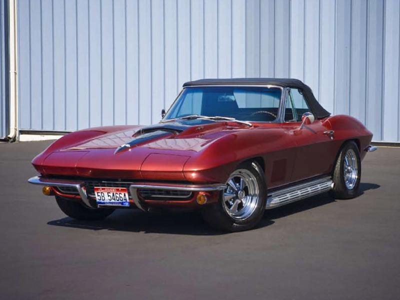 Bruce Willis' 1967 Corvette Roadster