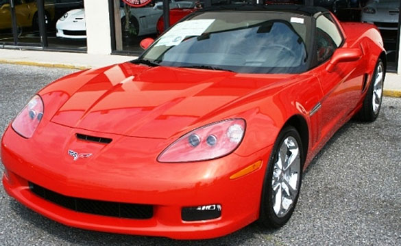 September 2010 Corvette Sales