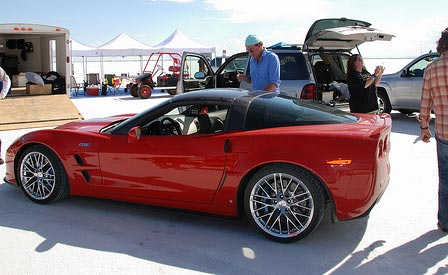 Top Gear Testing the Corvette ZR1