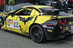Corvette ZR1 Race Car Wrecks at Watkins Glen
