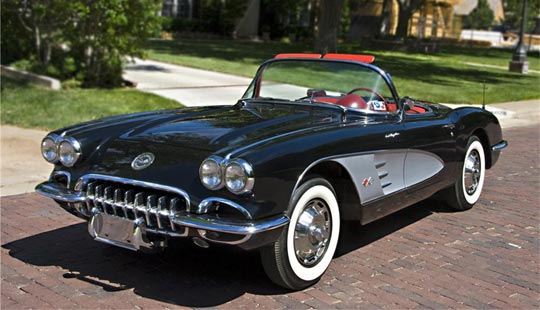 1960 Corvette offered at Barrett-Jackson Las Vegas 2009
