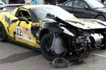 Corvette ZR1 Race Car Wrecks at Watkins Glen