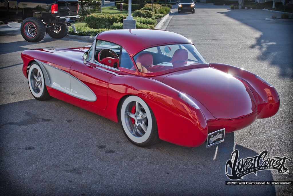 West Coast Corvette >> Dvr Alert West Coast Customs Vett I Am Custom Corvette Project