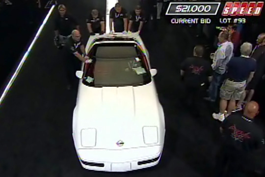 1993 Corvette Sells for $23,100