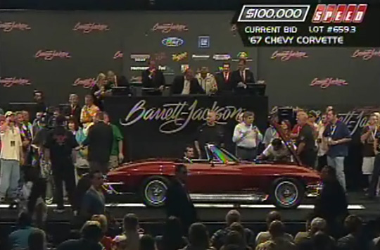Bruce Willis Sells his 1967 Corvette Convertible