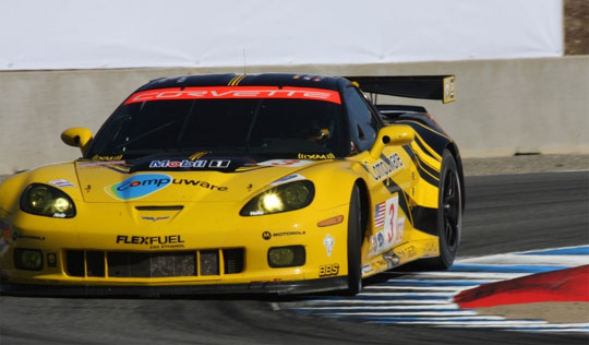 Corvette Racing's Wild Finish at Laguna Seca