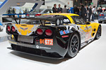 The Corvette C6.R at the Paris Motor Show
