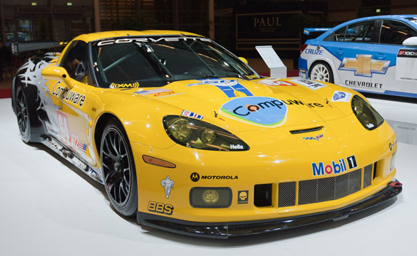 An American in Paris: The Corvette C6.R at the Paris Motor Show