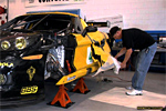 Bad Boy Vette's C6.R Graphic