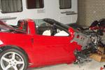 European Dealer Crashes Customer's C6 Corvette