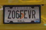 Corvette Vanity License Plates of Petit Le Mans