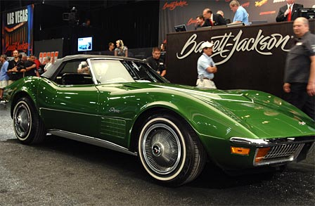 C3 Corvette Auctioned by Barrett-Jackson