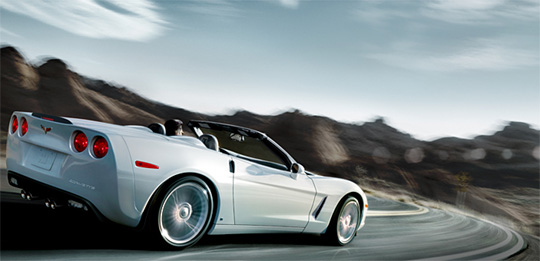 Chevrolet Website Now Featuring 2010 Corvettes