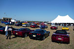 Kerbeck Corvette's Toys for Tots Run