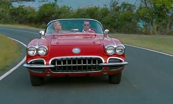 Johnny Depp Receives a 1959 Corvette as Gift from