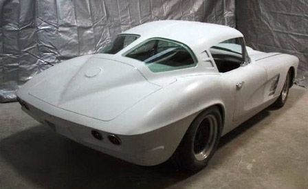 Custom 1961 Corvette Split Window