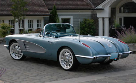 1958 Corvette Resto-Mode was the top Corvette sale at Barrett-Jackson Las Vegas
