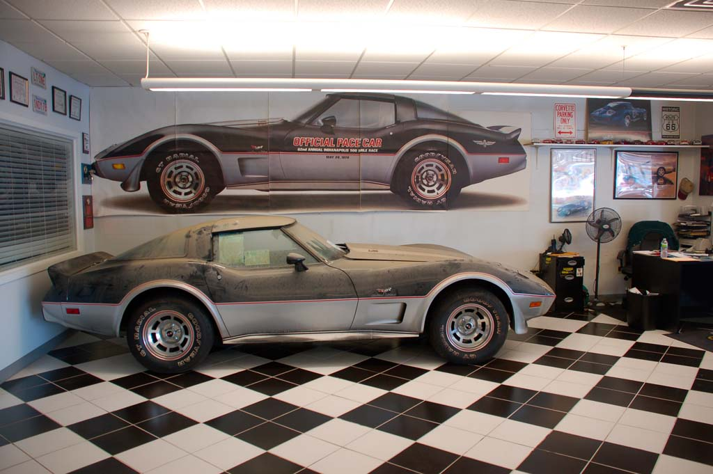 Amazing 1978 Corvette Pace Car Barn Find with 13 Original Miles