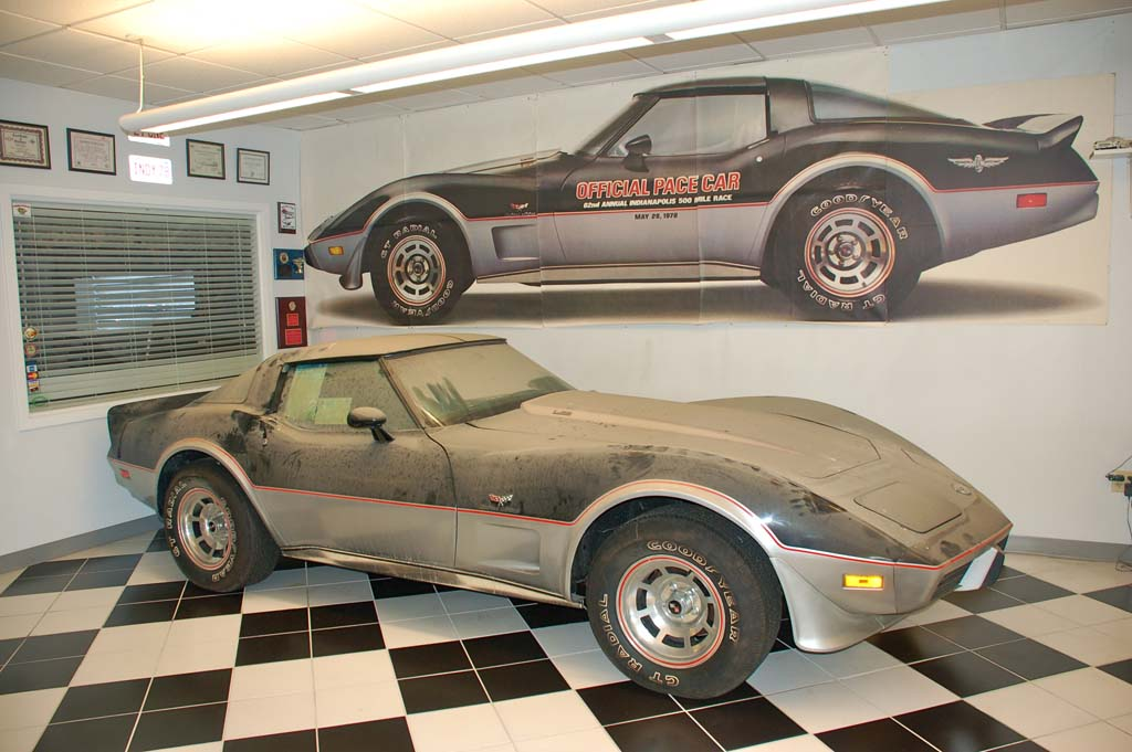 Amazing 1978 Corvette Pace Car Barn Find with 13 Original Miles ...