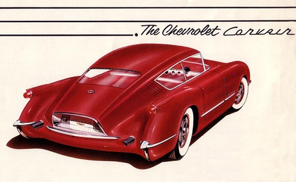 1954 Corvette Corvair Concept