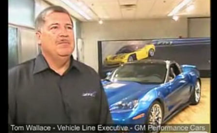 Tom Wallace discusses the Corvette ZR1