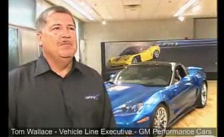 Tom Wallace discusses the Corvette ZR1