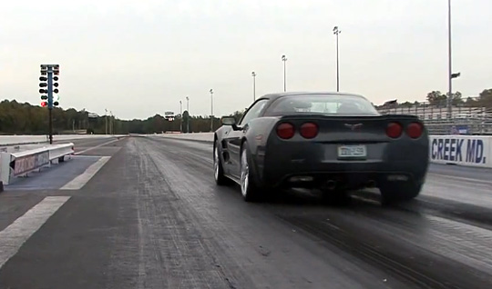 Bone Stock Corvette ZR1 Runs 10.851 @ 129.89 MPH
