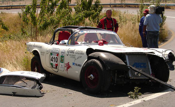1954 Von Esser Corvette Out of La Carrera Panamericana