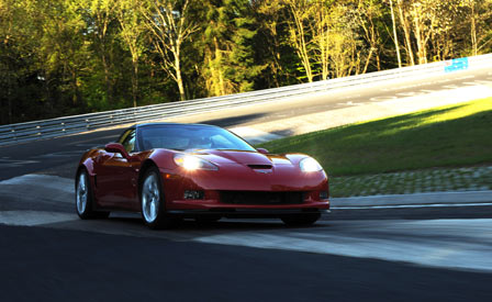 2009 Corvette ZR1 on the Nurburgring