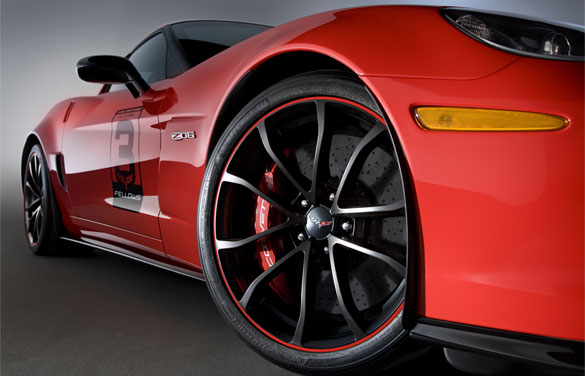 Corvette Z06 Ron Fellows 'Hall of Fame' Tribute