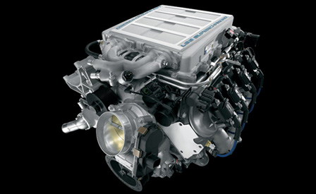 The 638-hp LS9 6.2L V8