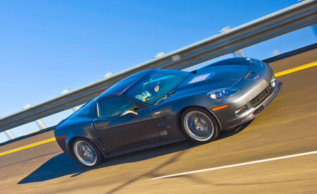 Motor Trend tests the 2009 Corvette ZR1