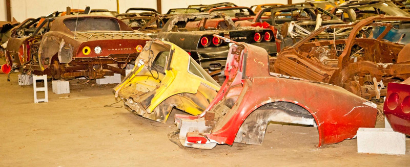 Cheap Corvettes For Sale >> Over 100 Salvage Corvettes Heading to the Auction Block ...