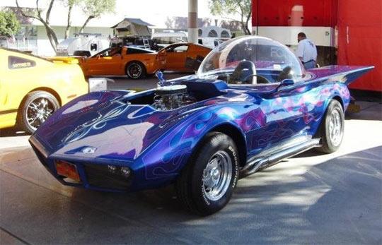 [VIDEO] SEMA 2009: Ed Roth Tribute Corvette