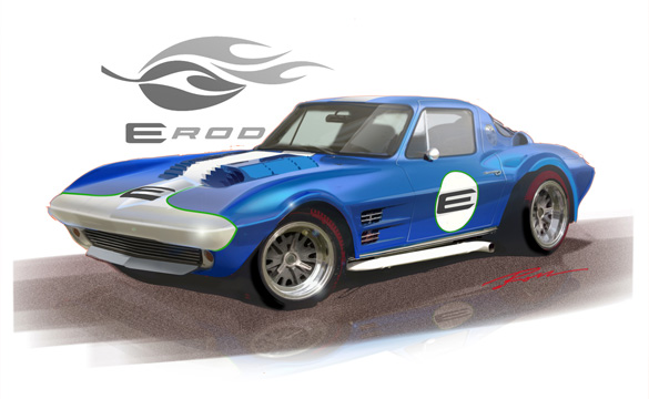 2010 SEMA: 1963 Corvette Grand Sport Replica Featuring the New GMPP E-ROD LSA Crate Engine