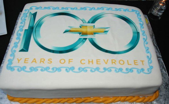 Happy 100th Birthday Chevrolet!