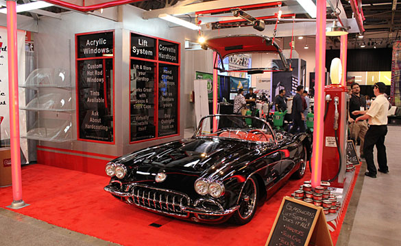 SEMA 2011: Glassworks Corvette Top Lift System