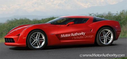 C7 Corvette Rendering