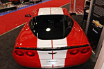 SEMA 2011: Ron Fellows and his Hall of Fame Corvet