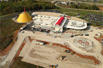 Corvette Museum Arial Photos